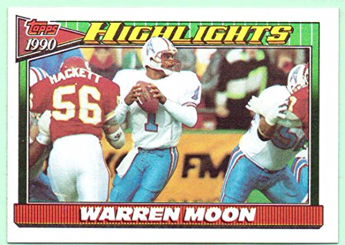 Warren Moon 1991 Topps Highlights #7 - Houston Oilers
