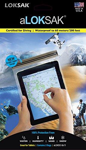 - LOKSAK aLOKSAK Tablet Drybag 8 x 11 inch, 2-Pack (aLOKD2-8x11)