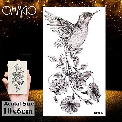 Yyoutop Diseño de la montaña Selva Negra e Tatuajes Etiqueta para ...