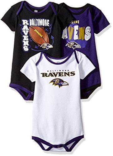 - NFL Baltimore Ravens Bodysuit Set, Rav Purple, Youth 24 Months