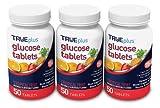TRUEplus® Glucose Tablets, Tropical Fruit Flavor - 50ct Bottle