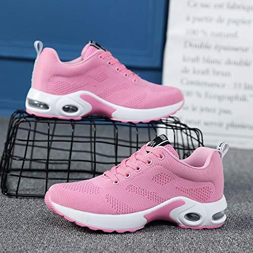 Net De Tejidos Deporte 35 41 Deportivas Running Rosado 2020 Zapatillas Aire Volar Gimnasia Logobeing Cojines Para Sneakers Estudiante Mujer Calzado Zapatos Con CO85qw