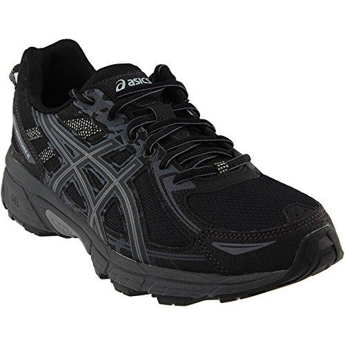 ASICS Men's Gel-Venture 6 Running-Shoes, Black/Phantom/Mid Grey, 9.5 Medium US