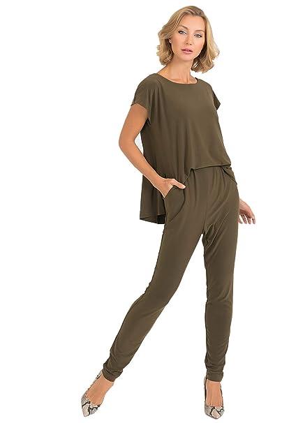Amazon.com: Joseph Ribkoff 193052 - Mono para mujer: Clothing
