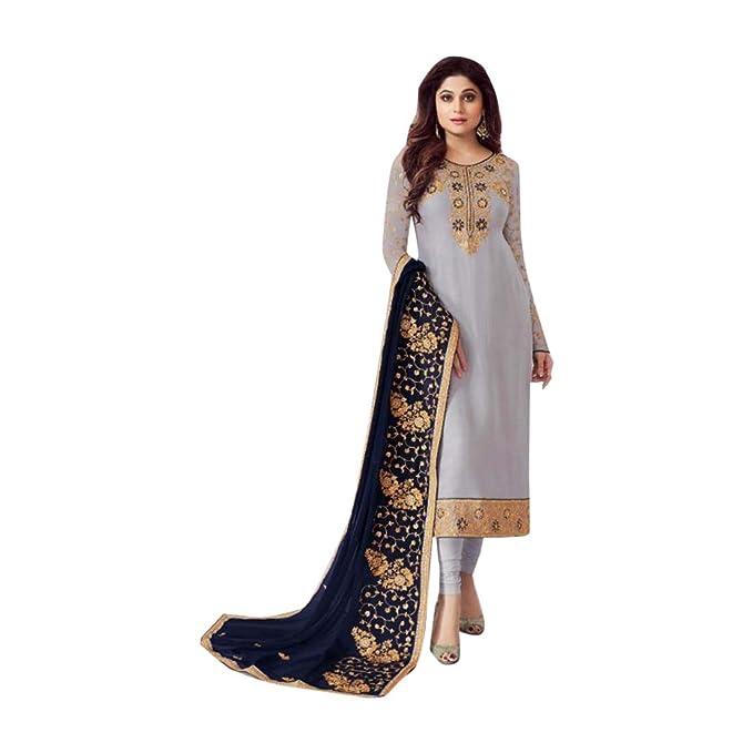 Recto Nueva Kameez Salwar Shalwar Suit Traje Mujeres Indias ...