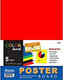 BAZIC 11'' X 14'' Multi Color Poster Board (5/Pack) 48 pcs sku# 310200MA