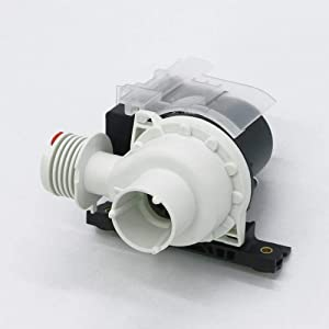 Replacement 137221600 Washer Drain Pump By AMI, Replaces AP5684706, PS7783938,AP5684706, 131724000, 134051200, 134740500, 137108100, 137151800, PS7783938, and More