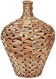 Imax Lelei Small Woven Water Hyacinth Vase