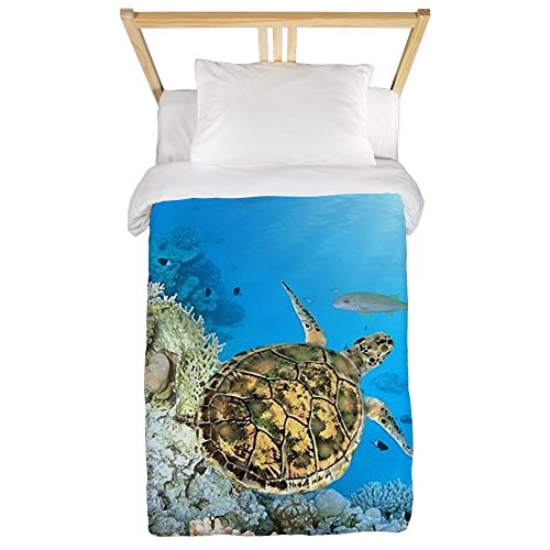 CafePress - Sea Turtle - Twin Duvet Cover, Printed Comforter