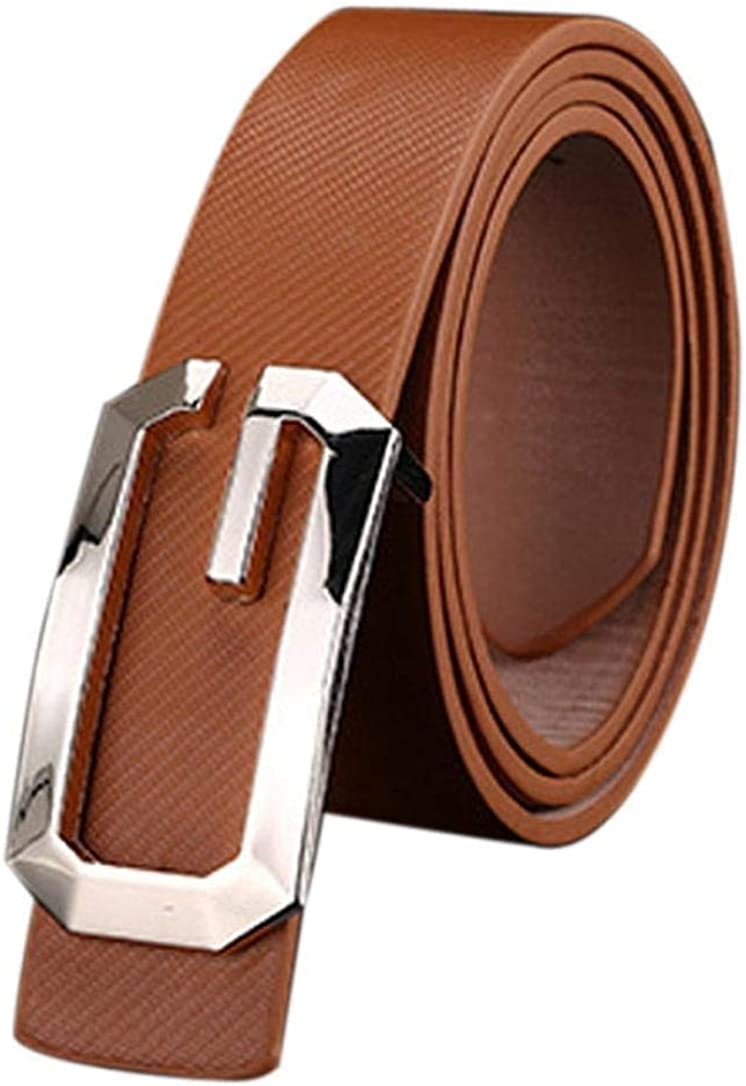 LVLUOYE Mens belt Unisex rk Casual Pu Leather Strong Waistband Pu Leather Suit Jeans s