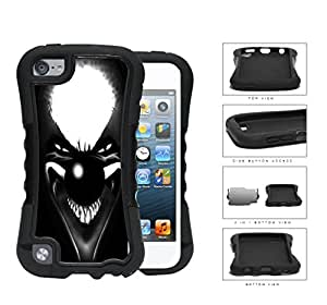 Evil Clown Scary Face Mask 2-Piece Dual Layer High Impact Rubber Silicone Case Cover Apple iPod Touch 5th Generation wangjiang maoyi