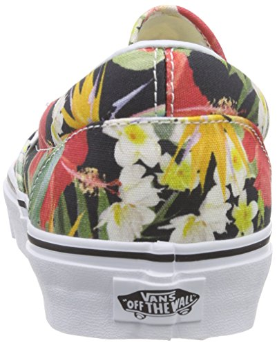 Vans Unisex Adults' Classic Slip-on Low-Top Sneakers Multicolored (Digi Aloha/Black/True White) 0TrES