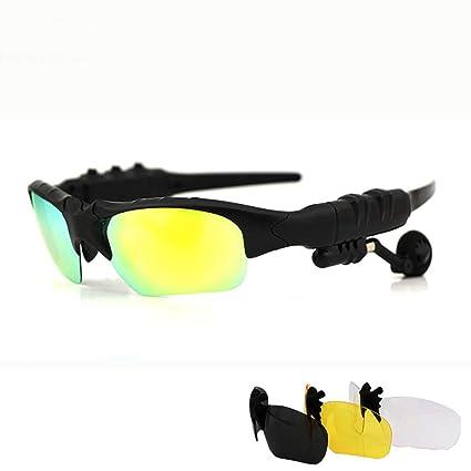8654b0f7a5fd YWYU Smart Bluetooth Polarized Sunglasses Wireless Headset Phone Listening  Song Sports Driver Driving Sunglasses Polarized Sunglasses