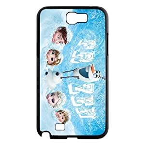 2014 Disney 3D Cartoon Movie Frozen Creative Poster Samsung Galaxy Note2 N7100 Hard Snap-on Case---All Buried In The Snow