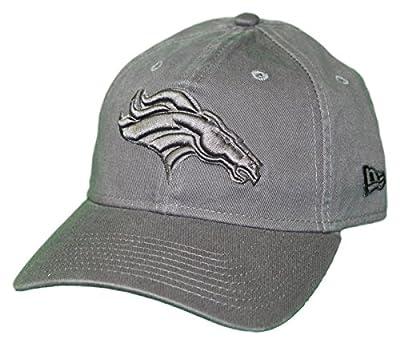 New Era Denver Broncos NFL 9Twenty Classic Tonal Adjustable Graphite Hat by New Era