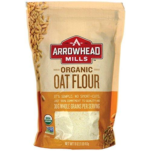 Arrowhead Mills Flour Oat Organic, 16 (Organic Oat Flour)