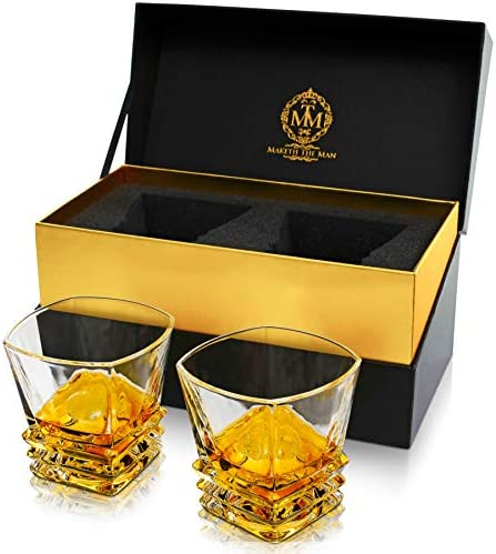 Smart Object Whiskey Glass Gold Rimmed Mockup Compatible With Affinity Designer Old Fashioned Whiskey Glasses Gold Rim Whiskey Glass