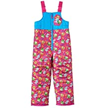 Shopkins Little Girls Bib Snowpants Sneaky Wedge, Kooky Cookie & Apple Blossom