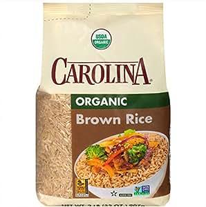 Amazon.com : Carolina Organic Brown Rice, 2 lb. : Grocery