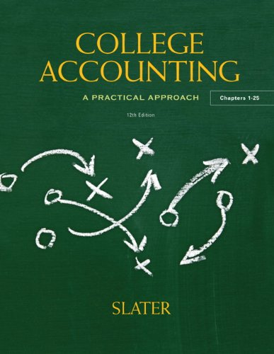 College Accounting, 12th Edition Front Cover