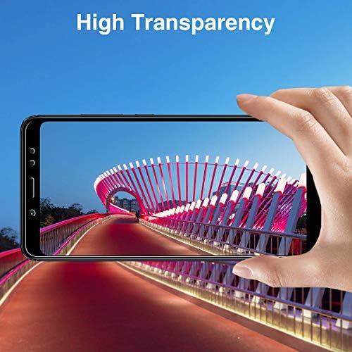 GIMTON Displayschutzfolie für Huawei Nova 3I, Ultra Dünn HD Panzerglasfolie mit 3D Touch, 9H Härte Schutzfilm aus Gehärtetem Glas für Huawei Nova 3I, 4 Stück