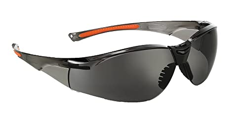 Univet 513 Lightweight Safety Glasses With Smoke Lens