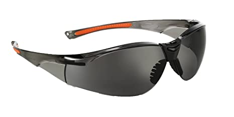0781456fde2 Univet 513 Lightweight Safety Glasses With Smoke Lens  Amazon.co.uk ...