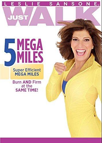 DVD : Leslie Sansone - 5 Mega Miles w / Band (DVD)