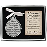 Cathedral Art CO521 Tear-Shaped Memorial Ornament, 2-3/4-Inch