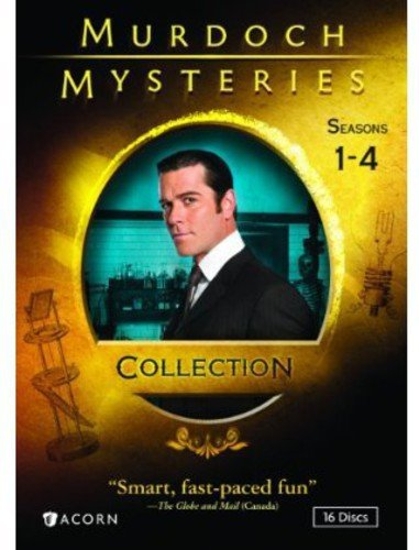 MURDOCH MYSTERIES COLLECTION: SEASONS 1-4 (Best Camera Deals Canada)