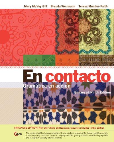 En contacto, Enhanced Student Text: Gramática en accion Pdf