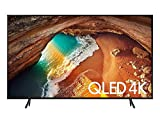 TV QLED Samsung 75' 75Q60R UHD 4K Smart, Tela de Pontos Quânticos, HDR 500, Modo Ambiente, HDMI, USB