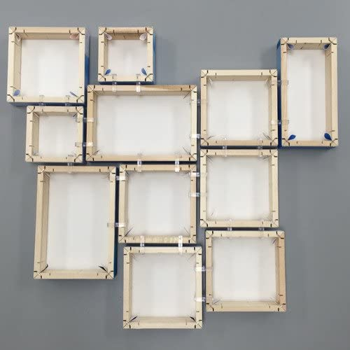 Canvas Clips Connect Up to 10 Gallery Wrapped Canvases Together /& Hang As 1 Unit