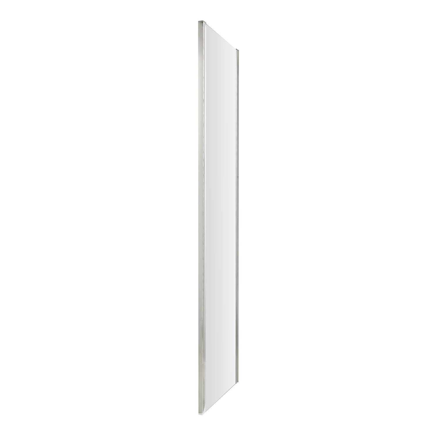 1900mm x 760mm Hudson Reed MH76-E8 Apex 760mm Modern Bathroom Hinged Shower Door with 8mm Toughened Safety Glass Clear