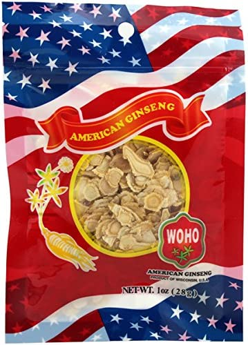 WOHO 125.1 Wisconsin Ginseng Small Slice Bag 1 oz
