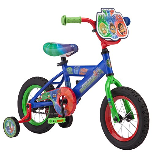"PJ Masks Boy's 12"" Bicycle, Blue by PJMASKS"