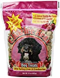 Charlee Bear Dog Treat, 16-ounce, Turkey Liver/Cranberries (3 Pack)