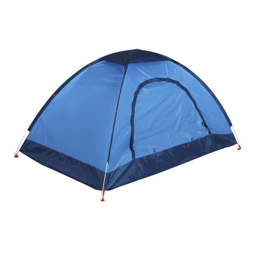 HUIYUE Doppelte Outdoor-Camping-Zelte,Einzellagen-Multifunktionale Zelte, Automatische Zelt, Camping-ausrüstung Portable Regendichte Wasserdicht Zelt-B 240x140x110cm(94x55x43inch)