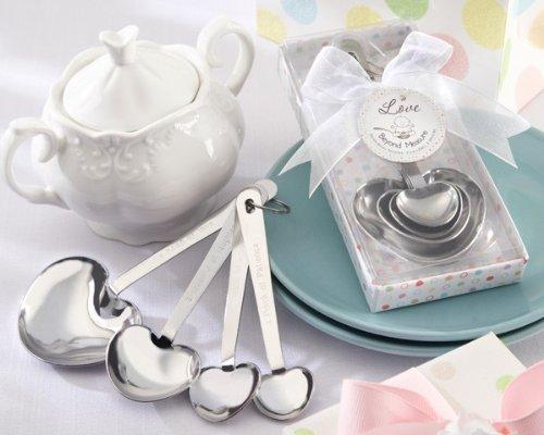 Love Beyond Measure Stainless-Steel Measuring Spoons Baby Shower Favor - Total 48 sets by Kateaspen [並行輸入品]   B01AKZG378