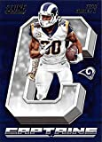 #3: 2018 Score Captains #15 Todd Gurley II Los Angeles Rams Football Card