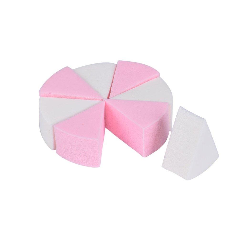 Tonsee 8ST/Satz MakeUp kosmetische Dreieck Foundation Schwamm Puder Gesichts Puff Latex Puderquaste Schönheit Werkzeuge Tonsee479125