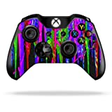 Protective Vinyl Skin Decal Cover for Microsoft Xbox One Controller wrap sticker skins Drips