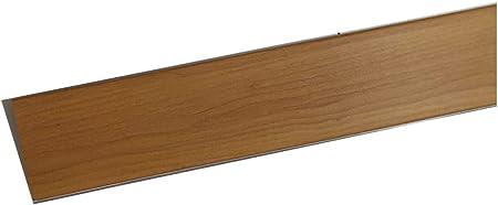 Alfredo Calandrelli Zoccolatura per Cucina 15 h Ottima per la Cucina Zoccolo Resistente Colore Ciliegio Lunghezza 2 Metri zoccolatura