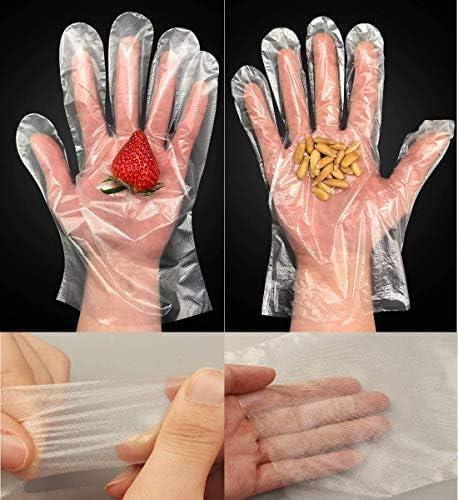 使い捨て手袋 1000枚入 極薄ビニール手袋 ポリエチレン 透明 調理用 食品 実用 セット極薄手袋 調理に・お掃除に・毛染めに 食品衛生法適合