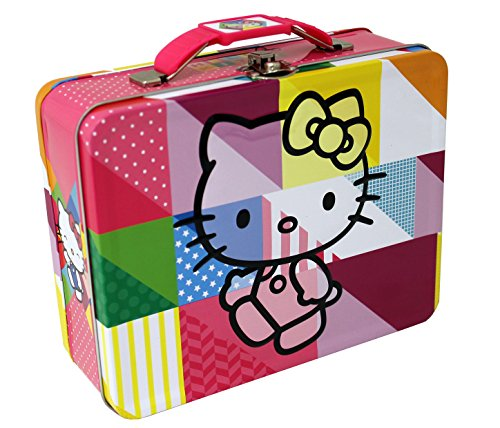 The Tin Box Company 697677-12 Hello Kitty Large Carry All Tin- Assorted