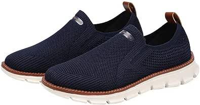 XIDISO Zapatos de Running para Hombres Zapatillas Calzado Ligero Sneakers para Caminar Gimnasio Zapatos Deporte Correr Fitness Escuela