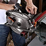 Tacklife Circular Saw with Laser Guide, Extra 40T 7-1/4