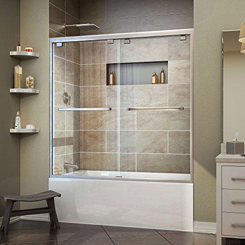 glass bath tub shower door - 6