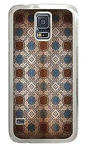 Samsung Galaxy S5 Rug Pattern PC Custom Samsung Galaxy S5 Case Cover Transparent