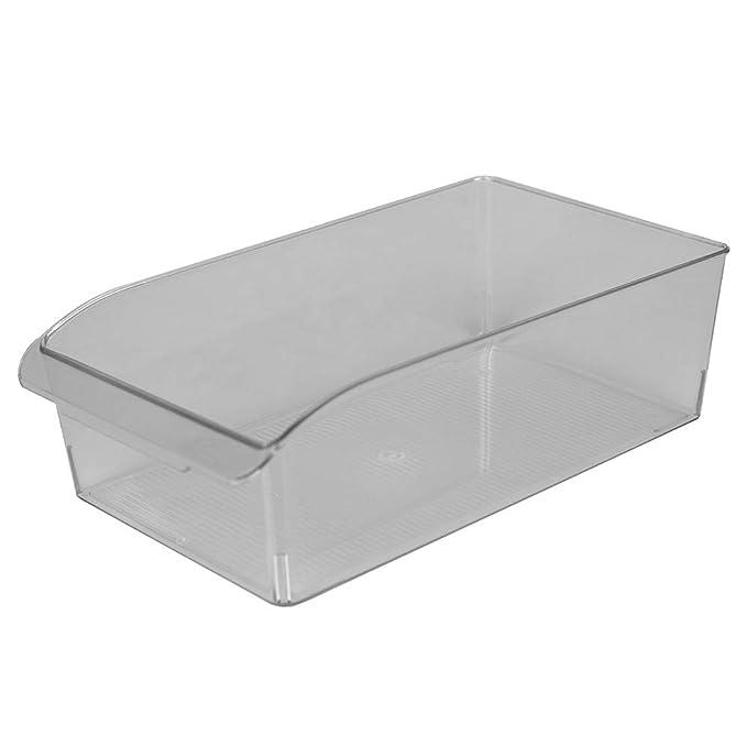 Home Basics - Contenedor de nevera de plástico pequeño multiusos ...